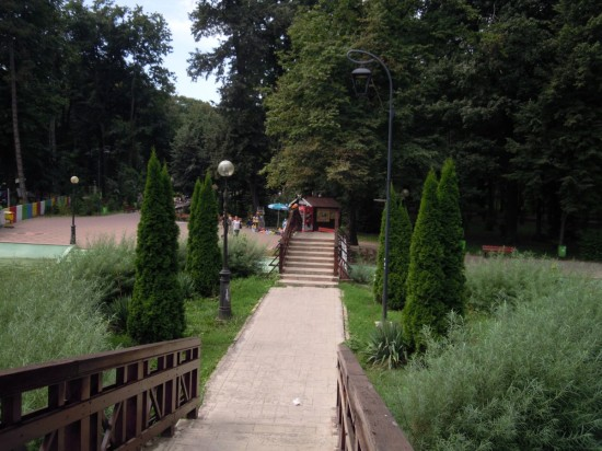 Parcu Mihai Eminescu Botosani 1