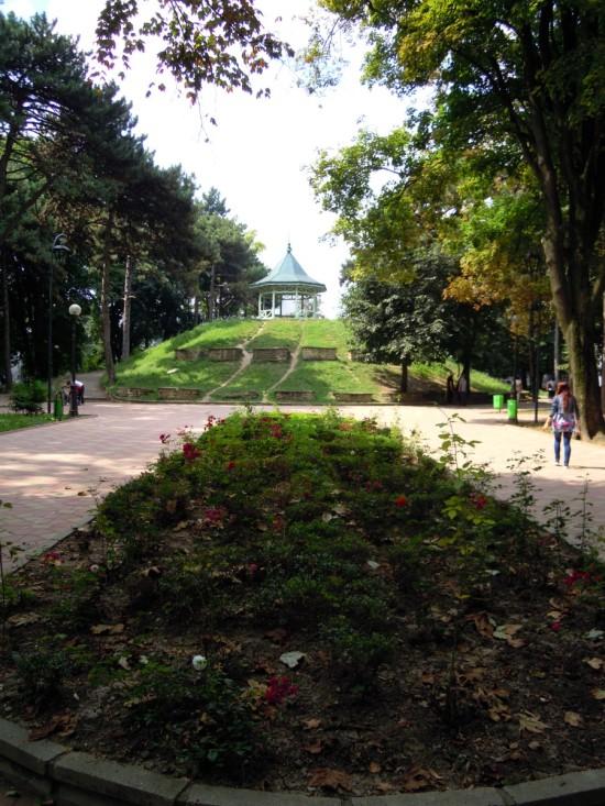 Parcu Mihai Eminescu Botosani